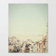 Elegance in San Francisco  Canvas Print
