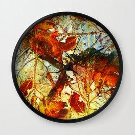 automn Wall Clock
