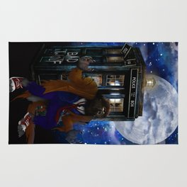 Werewolf 10th Doctor who Rug