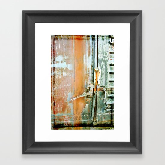 Locked Framed Art Print
