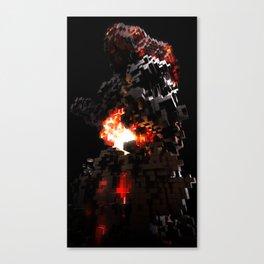 Voxel Canvas Print