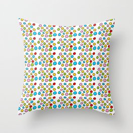 Circle and abstraction 3-abstraction,abstract,geometric,geometrical,pattern,circle,sphere Throw Pillow