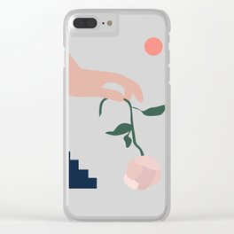 N I K T A Clear iPhone Case