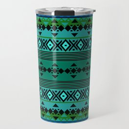Aztec Greens Travel Mug