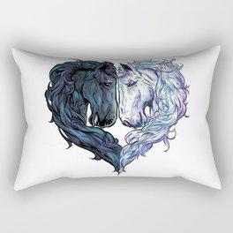 Love Horses Rectangular Pillow