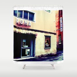 Cinema Roma Shower Curtain