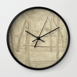 Vita Umbratilis (Life in the Shade) Wall Clock