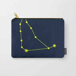 CAPRICORN (YELLOW-NAVY BLUE STAR SIGN) Carry-All Pouch