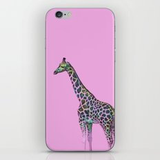 Chromatic Giraffe iPhone & iPod Skin