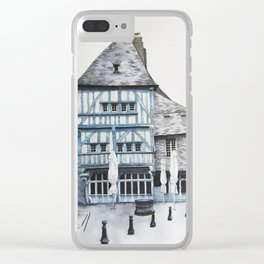 Dinan, Brittany Clear iPhone Case