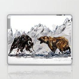 Bull and Bear Laptop & iPad Skin