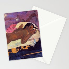 Spirit of The Dead Watching - Gauguin Stationery Cards