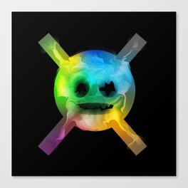 Go to skull Canvas Print