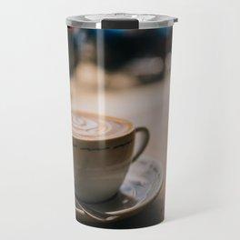 Cappuccion in the Window Travel Mug