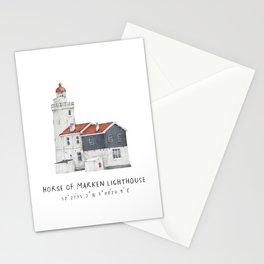 Horse Of Marken Lighthouse Stationery Cards