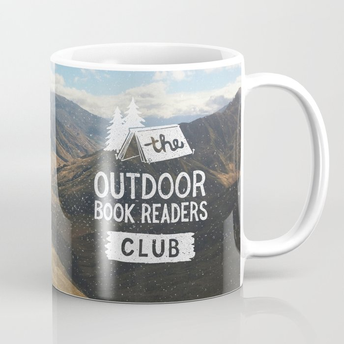 The Outdoor Book Readers Club Coffee Mug