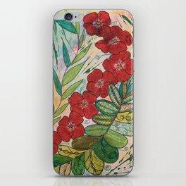 Poppy Trails iPhone Skin