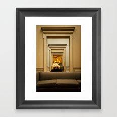 Paris, Texas, Museum Framed Art Print