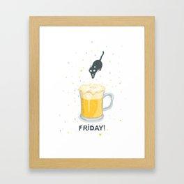Friday! Framed Art Print
