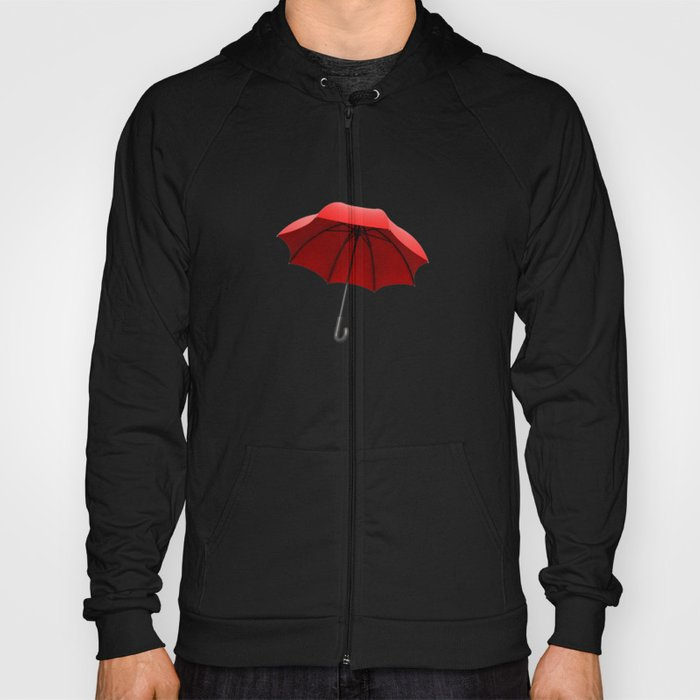Red Umbrella Hoody