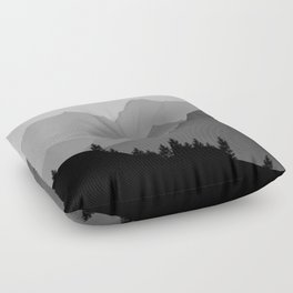 Above the tree line Floor Pillow