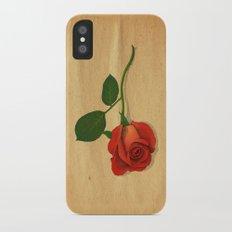 A Rose Slim Case iPhone X