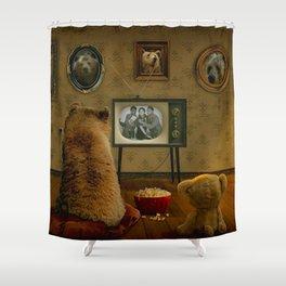 Goldilocks' Revenge Part One Shower Curtain