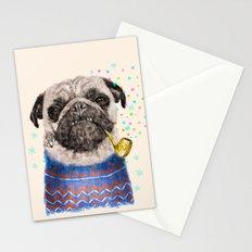 Mr.Pug II Stationery Cards