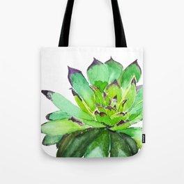 green succulent 2 Tote Bag