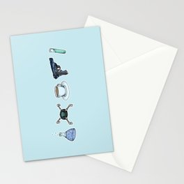FitzSimmons Objects Stationery Cards