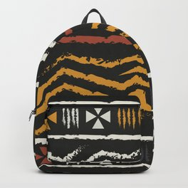 African Tribal Pattern No. 84 Backpack