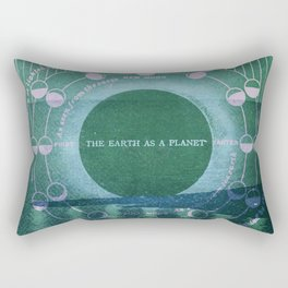 The Earth as a Planet Rectangular Pillow
