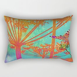 Butterfly by Angelica Rectangular Pillow