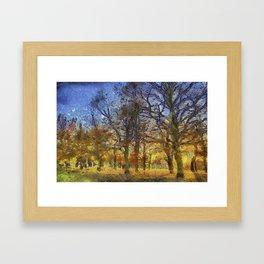 Greenwich Park London Art Framed Art Print