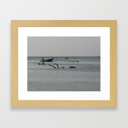 Flotsam Framed Art Print