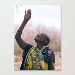 Triumph amid Hardships Canvas Print