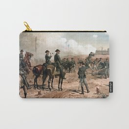 The Siege Of Atlanta -- Civil War Carry-All Pouch