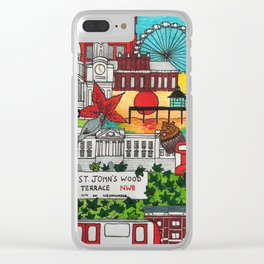 London 2018 Clear iPhone Case