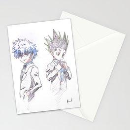 Killua And Gon Stationery Cards