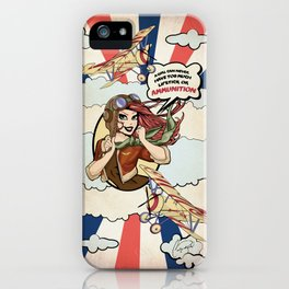 Bombin' Betty iPhone Case