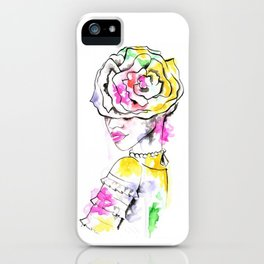Flower Crown iPhone Case