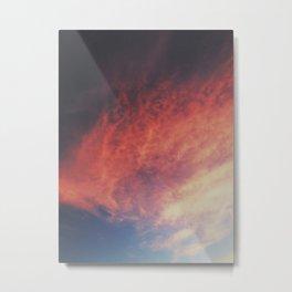 devilish skies Metal Print