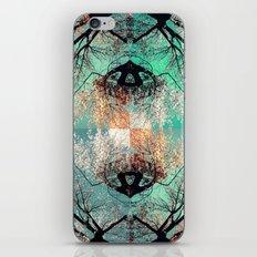 autumn tree - vessel pattern 2 iPhone & iPod Skin