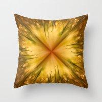 grass Throw Pillows featuring Grass by Susann Mielke