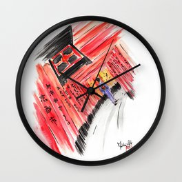Fushimi Inari Wall Clock