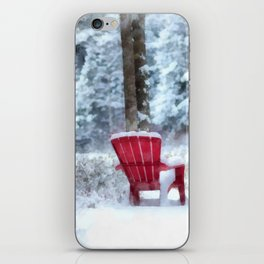 Winter Arrives on Anderson Pond iPhone Skin
