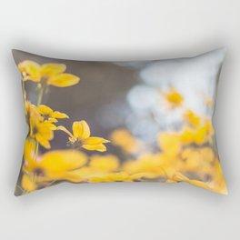 Dreaming in yellow Rectangular Pillow