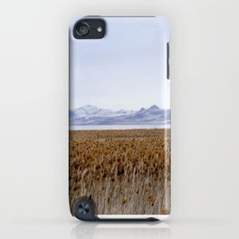 Salt Lake Mountains iPhone Case