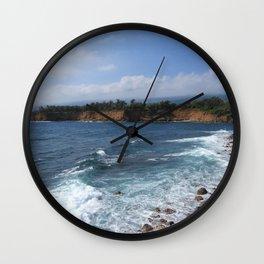 Kohala Coast Wall Clock
