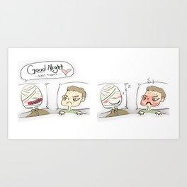 Sleep Tight Art Print
